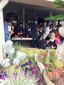 Perayaan Mothers day di gereja  St. Mary Whitford (dok pribadi)