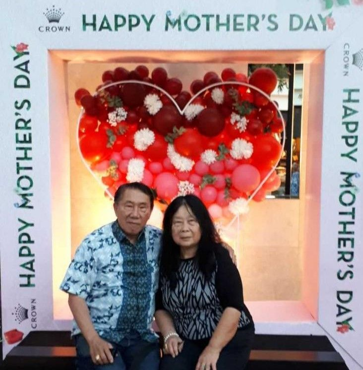 berfoto dihari mothers day (dok pribadi)