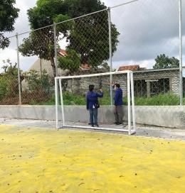 Survei lokasi yang dilakukan oleh Mahasiswa KKN UM