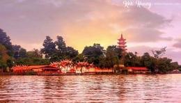 Pulau Kemaro Palembang (sumber : deddyhuang.com)