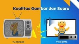 TV Digital menampilkan kualitas gambar dan tayangan lebih Bersih, Jernih dan Canggih (Sumber: Sarana Digital Indonesia)