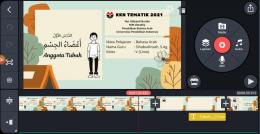 Pembuatan Media Pembelajaran Berbasis Video Menggunakan Aplikasi Kinemaster /Dokumen Pribadi/