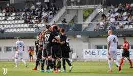 Laga pra musim Juventus mengalahkan Cesena dengan skor 3-1 (Foto Juventus.com)