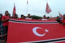Bendera Partai Aceh. Foto: Kompas.com