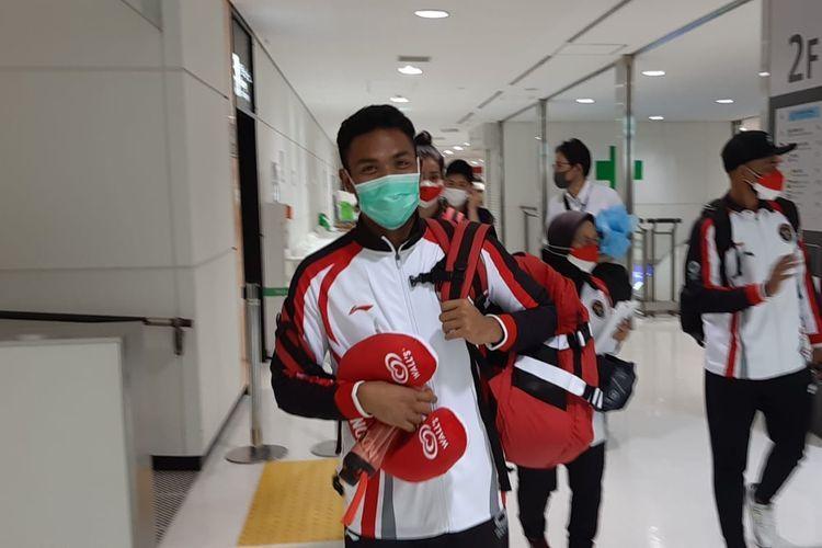 Kedatangan lalu Muhammad Zohri, gambar via kompas.com