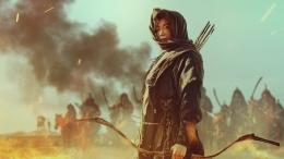 Karakter Ashin (Jun Jihyun) di episode spesial Kingdom: Ashin of the North.   Netflix