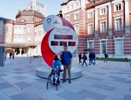 Tugu Hitung Mundur Olimpiade Tokyo 2020 | Sumber: dokumentasi pribadi