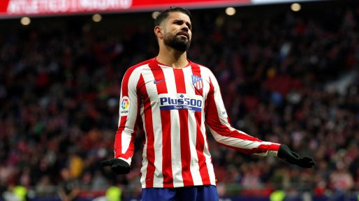 Diego Costa, pemain yang berstatus bebas transfer. (via transfermarkt.com)