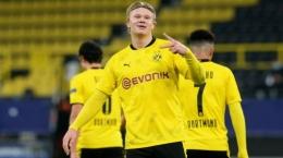 Erling Haaland, striker Borussia Dortmund (Foto: Transfermarkt).