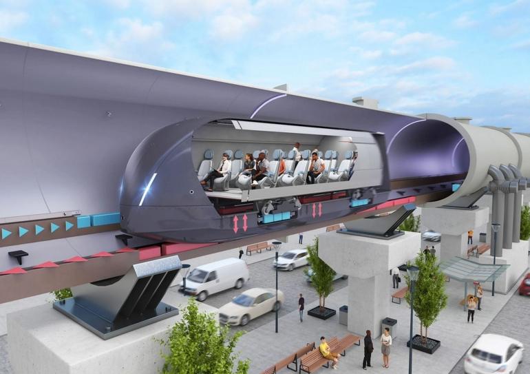 Hyperloop, kereta supercepat di masa mendatang, perwujudan konsep kereta elektromagnetik Weinberg. Sumber: https://www.groundworkscompanies.com/