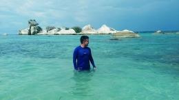 Momen Saat liburan di Pulau Belitung (Foto Dokumen Pribadi) .