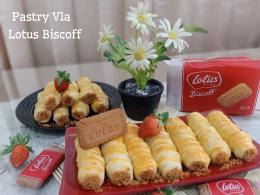 Ilustrasi Pastry Vla Lotus Biscoff | Dokpri