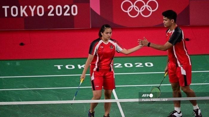 Ganda campuran Indonesia, Praveen Jordan/Melati Daeva akan menghadapi unggulan 1 asal Tiongkok di perempat final/Foto: Pedro Pardo AFP