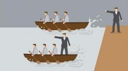 Ilustrasi Servant Leader | Sumber : sarjanaekonomi.co.id