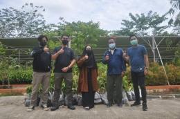 Dokumentaasi Pengambilan Bibit Tanaman di Persemaian Permanen KM 47