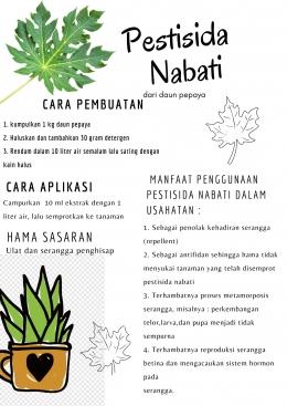 Cara Pembuatan Pestisida Nabati/dokpri