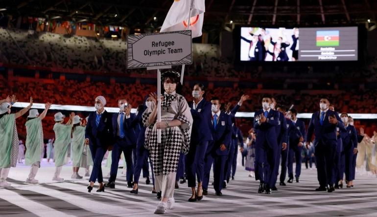 Refugee Olympic Team di Olimpiade Tokyo 2020 (bola.com)