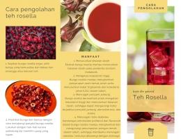 Cara pengolahan teh rosella (1)/dokpri