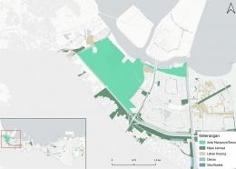 Gambar 8. Analisis spasial pesisir Jakarta Utara[20]