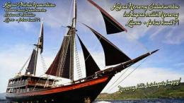 Kapal Pinisi Berasal Dari Daerah Sulawesi Selatan Bulukumba Keturunan Ratu Bugis Keluarga Si Pembuat Kapal Pinisi. Kompasiana. Foto by. Pinisi Nenong