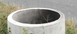Ilustrasi gambar bis beton tempat menampung sampah warga. Dokpri Yuliyanti