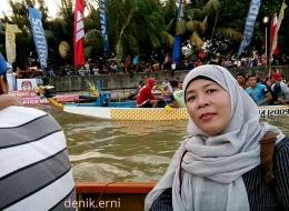 Dalam kemeriahan Festival Cisadane (dokpri)