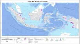Gambar 3. Peta Persebaran Mangrove di Indonesia[8]