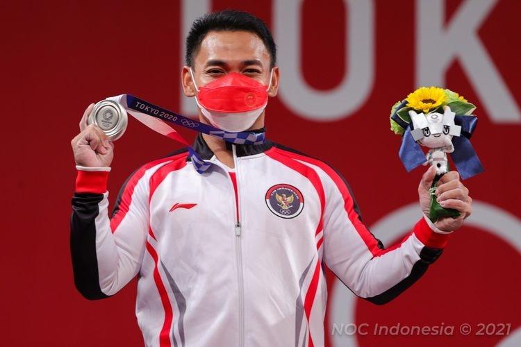 Eko Yuli Irawan, Menyumbang Medali Perak di Olimpiade Tokyo 2020 I Kompas.com