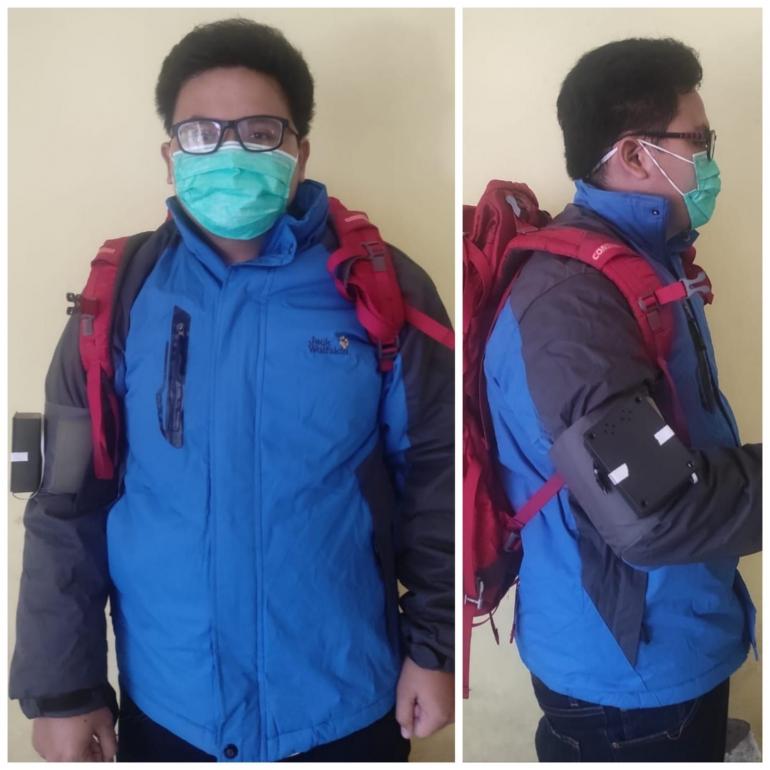 Inovasi Ban Lengan Cerdas bagi Pendaki Gunung