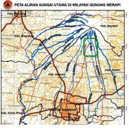 Hulu Kali Opak (Gendol, Opak, Kuning) (sumber: mountmerapi.wordpress.com)