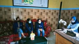 koordinasi mahasiswa dengan perangkat desa (dokpri)