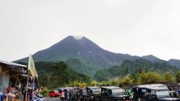 Gunung Merapi dari sisi Kaliadem (Dokumen pribadi)