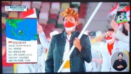 Stasiun TV Korea lecehkan Indonesia dan beberapa negara lain di Olimpiade Tokyo. Sumber: twitter.com/lovemazehobi