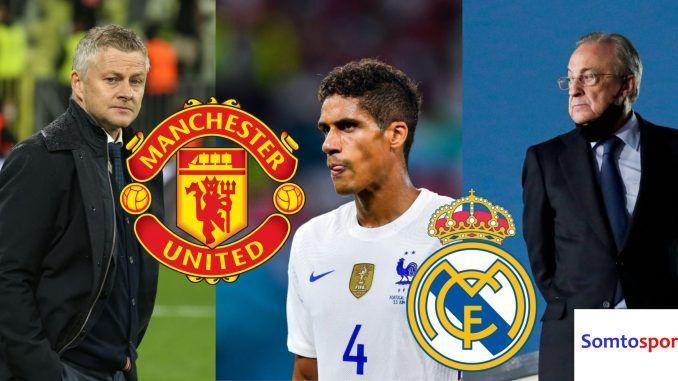 Signal positif Varane merapat ke Manchester United. Somtosports.com