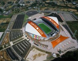 www.stadiumbd.com dan www.pinterest.comStadion Saitama, terlihat monumental, dengan