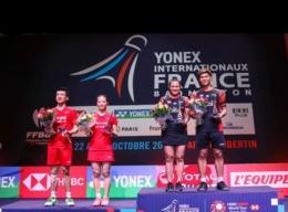 PraMel juara French Open 2019 usai di final menang atas Siwei/Yaqiong/BWFBadminton.com
