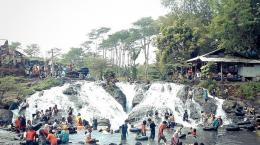 Menyusuri keindahan Sumber Maron, Malang| Sumber: Eki Tirtana Zamzani via surabaya.tribunnews.com