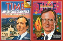 Peter Ueberroth di cover TIME. Sumber: Time / www.gizmodo.com