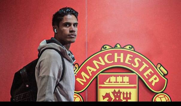 Raphael Varane jadi rekrutan terbaru Manchester United  Sumber: ESPN via KompasTV