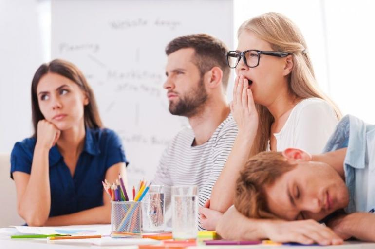 Why is your presentation boring (Sumber: istockphoto.com)