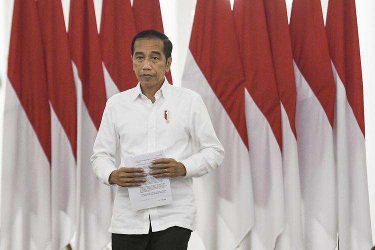 Presiden Joko Widodo (Foto: Antara Foto/Hafidz Mubarak A/ama, via kompas.com)