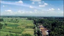 Gambar Desa Sumberjati diambil dari Atas (Drone) Dokpri