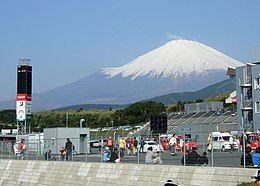 Area yang nyaman, berlatar belakang Gunung Fuji, bertopi salju abadi/flickr.com