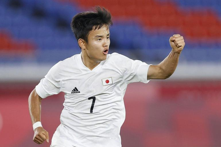 Potret Takefusa Kubo bersama Jepang U23 . Sumber : jp.newstimes.net.cn