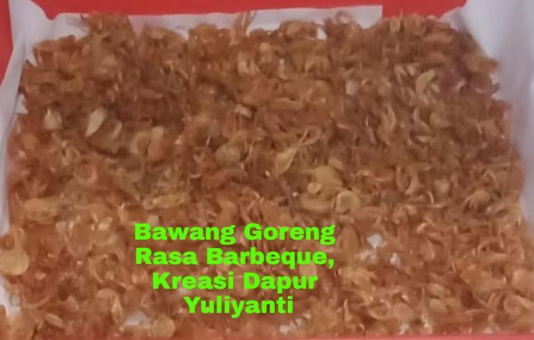 Ilustrasi gambar bawang merah goreng, dokpri Yuliyanti
