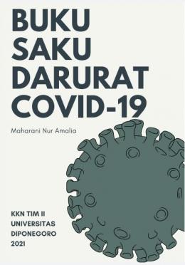 Cover Buku Saku COVID-19 yang dibagikan ke warga/dokpri