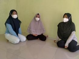 Target Sasaran Pelatihan Pembuatan Masker/Dokpri