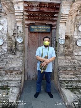 Pintu masuk makam Sunan Bonang (dokpri)