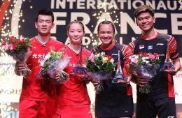 Praveen/Melati pernah mengalahkan Zheng/Huang di final Prancis Open 2019: badmintonindonesia.org