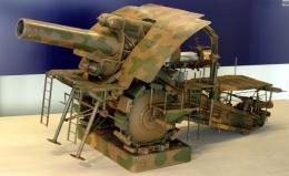 Bertha Besar. Sumber: https://en.wikipedia.org/wiki/Big_Bertha_(howitzer)#/media/File:Musee-de-lArmee-IMG_0984.jpg
